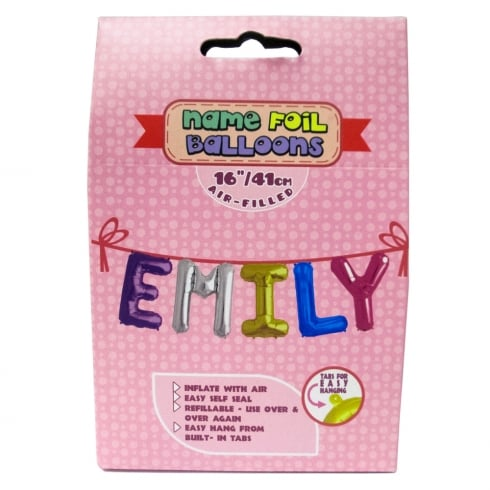 Royal County Products Name Foil Balloons Emily