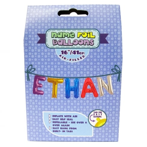 Royal County Products Name Foil Balloons Ethan
