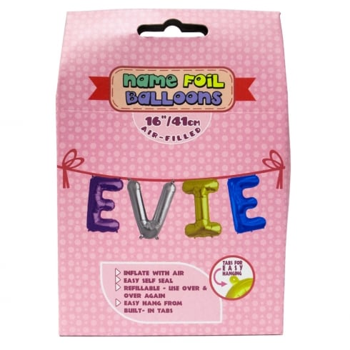 Royal County Products Name Foil Balloons Evie