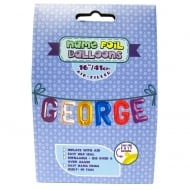 Name Foil Balloons George