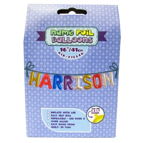 Royal County Products Name Foil Balloons Harrison