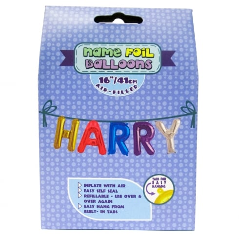 Royal County Products Name Foil Balloons Harry