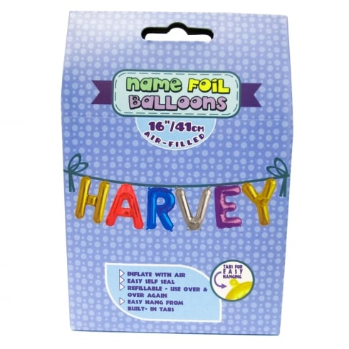 Royal County Products Name Foil Balloons Harvey