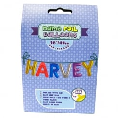 Name Foil Balloons Harvey