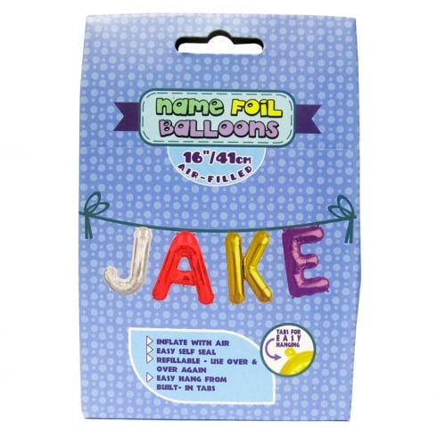 Royal County Products Name Foil Balloons Jake