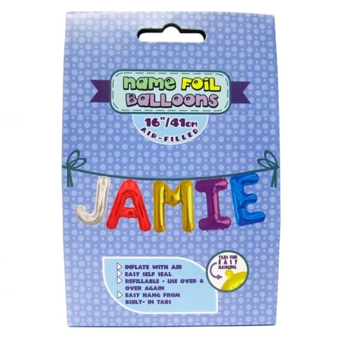 Royal County Products Name Foil Balloons Jamie
