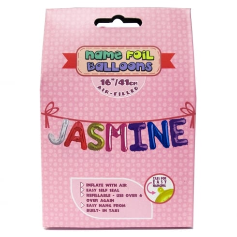 Royal County Products Name Foil Balloons Jasmine