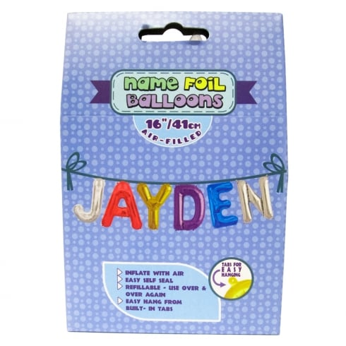 Royal County Products Name Foil Balloons Jayden