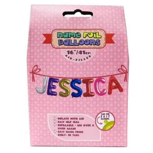 Royal County Products Name Foil Balloons Jessica