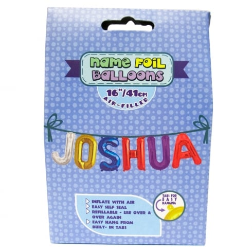 Royal County Products Name Foil Balloons Joshua