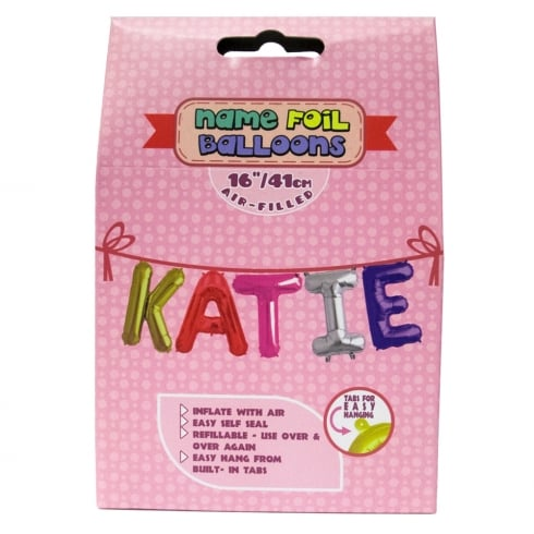 Royal County Products Name Foil Balloons Katie