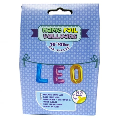 Royal County Products Name Foil Balloons Leo