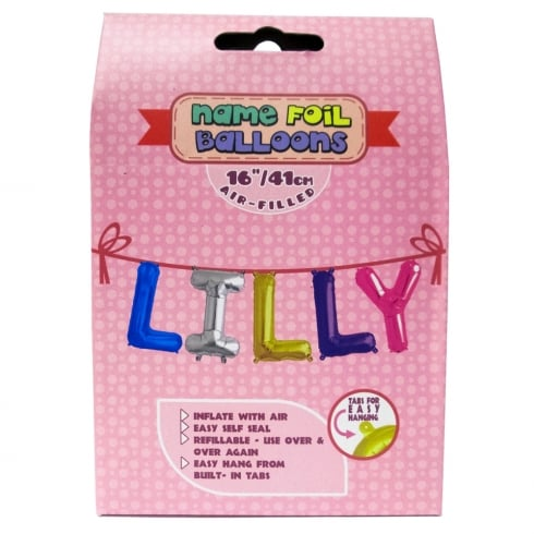 Royal County Products Name Foil Balloons Lilly