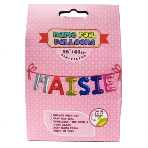 Royal County Products Name Foil Balloons Maisie