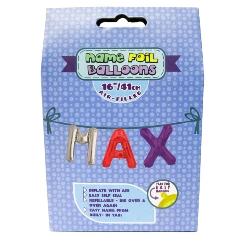 Royal County Products Name Foil Balloons Max