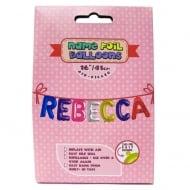 Name Foil Balloons Rebecca