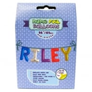 Name Foil Balloons Riley