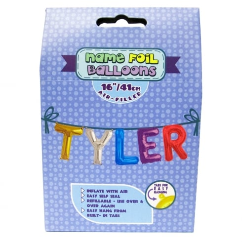 Royal County Products Name Foil Balloons Tyler