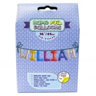 Name Foil Balloons William