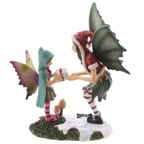 Puckator Natasha Faulkner Christmas Fairy -The Magic Of Christmas Figurine