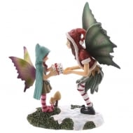 Natasha Faulkner Christmas Fairy -The Magic Of Christmas Figurine