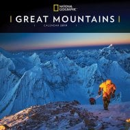 National Geographic Great Mountains Wall Calendar 2019