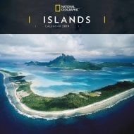 National Geographic Islands Wall Calendar 2019