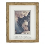 Natural Wood Effect Grandma 4 x 6 Photo Frame