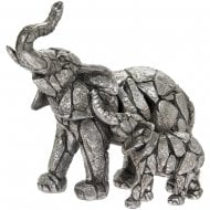 Natural World - Elephant & Calf Figurine