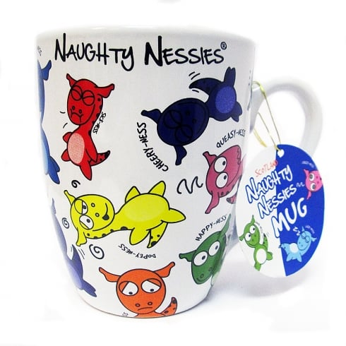 Heather Gift Co. Naughty Nessie Mug