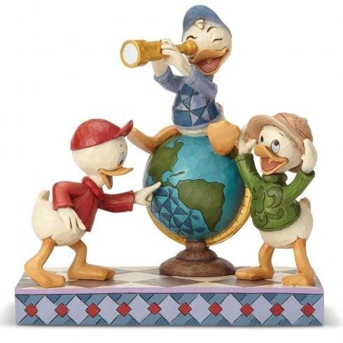 Disney Traditions Navigating Nephews Huey, Dewie and Louie
