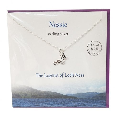 The Silver Studio Nessie Pendant