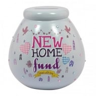 New Home Ceramic Money Pot