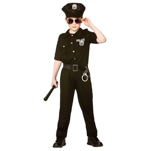 Wicked Costumes New York Cop (5-7) Medium