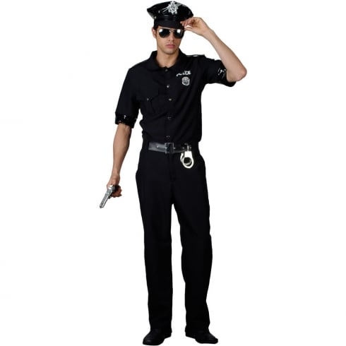 Wicked Costumes New York Cop (XL) Hat Included