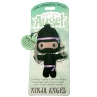 Ninja Angel Keyring