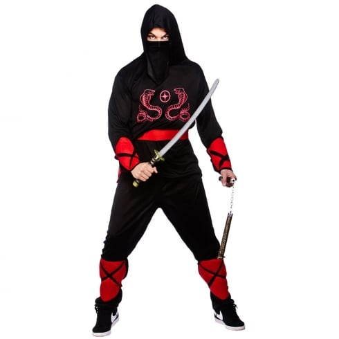 Wicked Costumes Ninja Warrior (M)