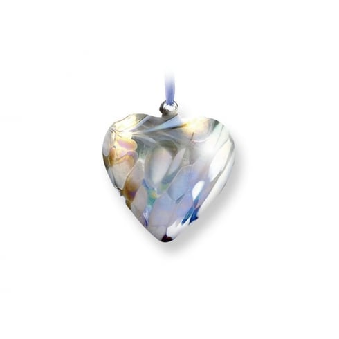 Nobile Glassware April Birth Gem Heart
