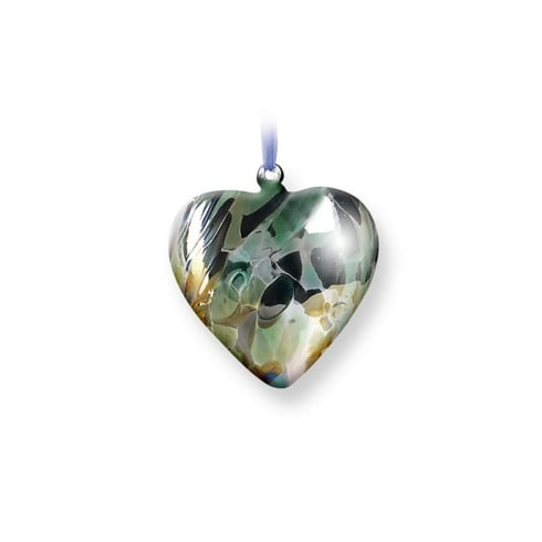 Nobile Glassware August Birth Gem Heart
