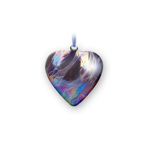 Nobile Glassware February Birth Gem Heart