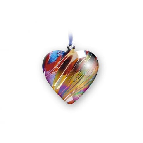 Nobile Glassware January Birth Gem Heart