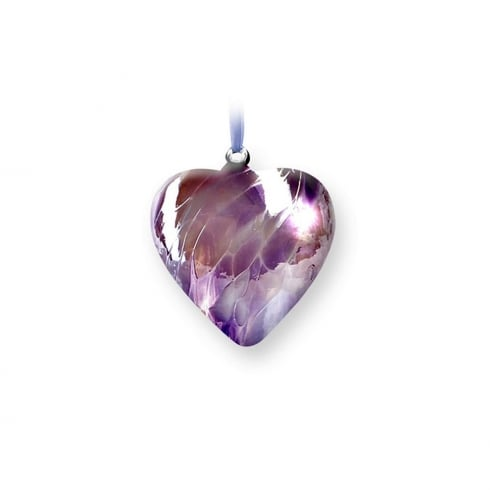 Nobile Glassware June Birth Gem Heart