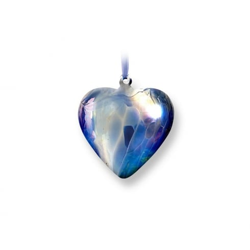 Nobile Glassware September Birth Gem Heart