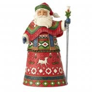 Nordic Noel Lapland Santa with Staff