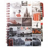 Notebook With Scotland Photo