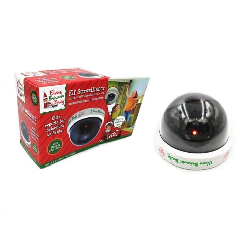 Novelty Elf Surveillance Camera Flashing LED Light