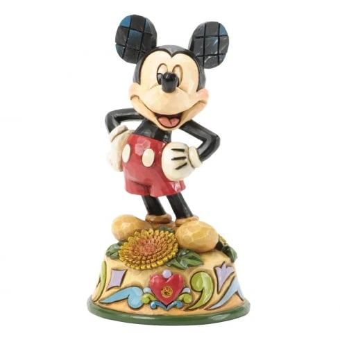 Disney Traditions November Mickey Mouse Figurine