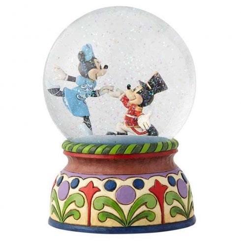 Disney Traditions Nutcracker Mickey & Minnie Musical Waterball