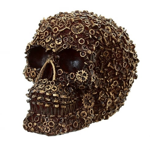 Puckator Nuts Bolts & Screws Skull Decoration