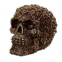 Nuts Bolts & Screws Skull Decoration
